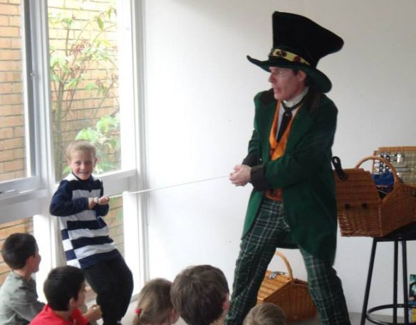 Birthday Party Magic Show Hatter