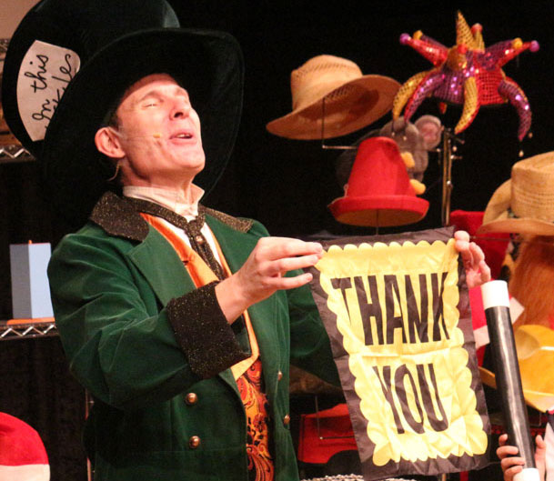 Contact The Mad Hatter Magic Show